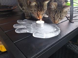 Hand made of ICE...