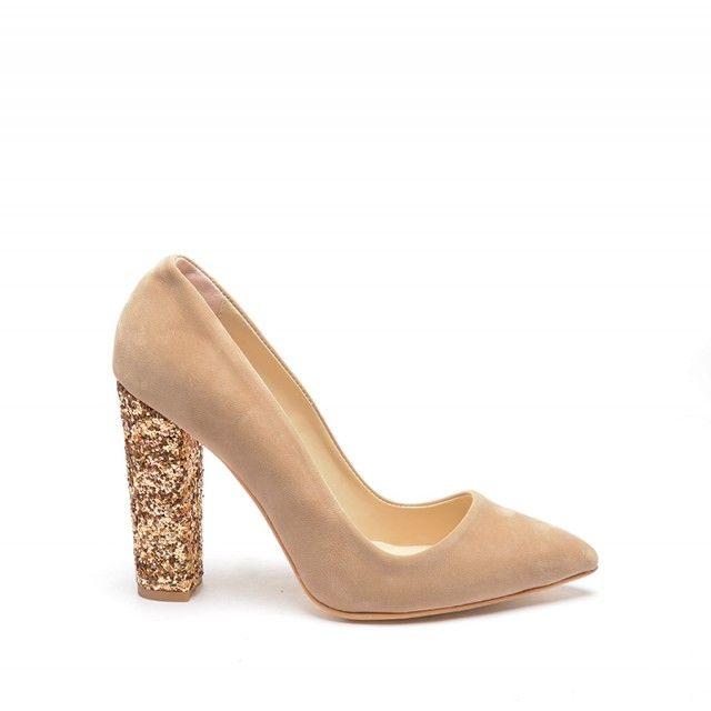 Pantofi Giny Bej (Bej)