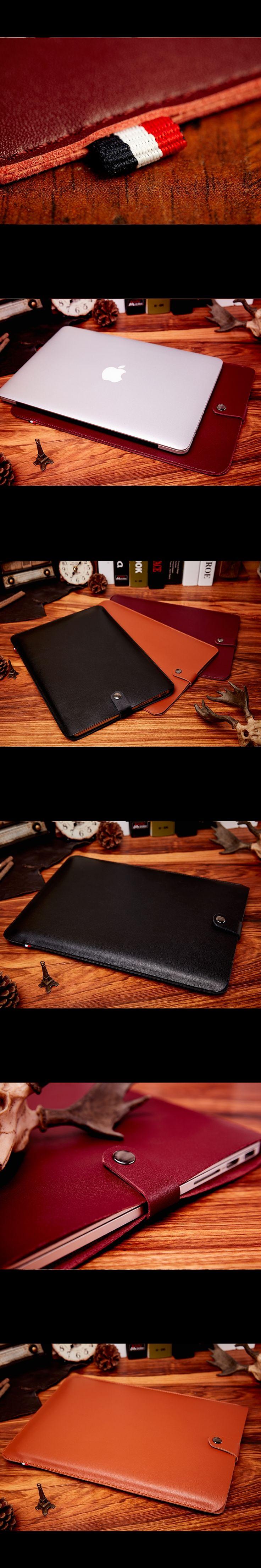 "KALIDI Waterproof Notebook Laptop Sleeve Bag Case for 11"" 12"" 13 Inch Macbook Air/Pro/Retina Ultrathin Womens Envelope Briefcase"