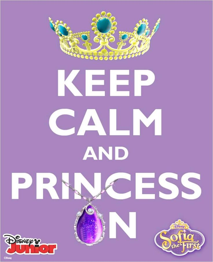 "Sophia the First Printable Poster ""Keep Calm and Princess On"" http://www.thesuburbanmom.com/wp-content/uploads/2013/02/856546_489916727737426_1337822781_o.jpg"