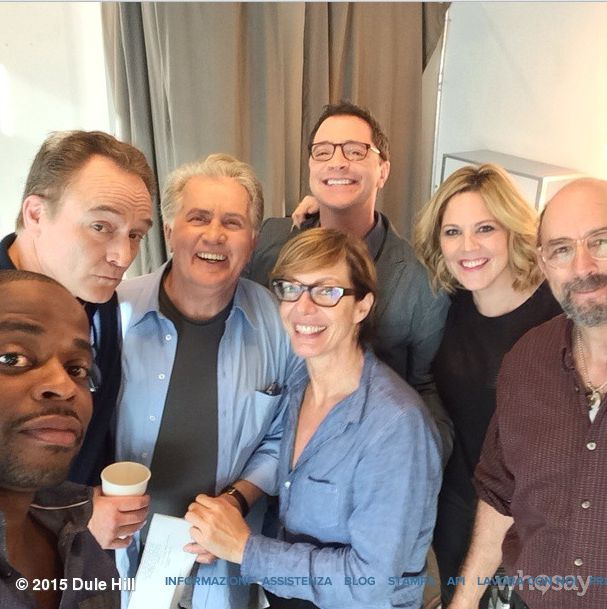 The West Wing family: love these guys!