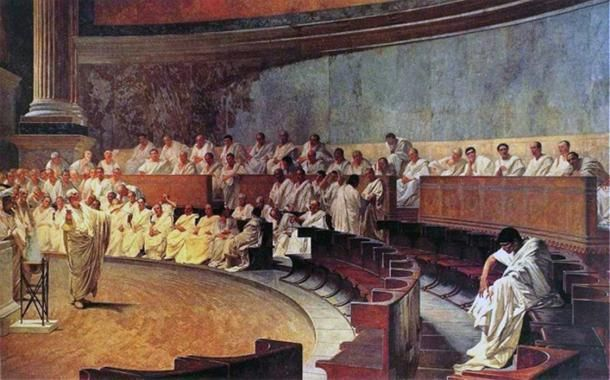 In ancient Rome, the patricians (from the Latin word patres, meaning 'fathers') were one of the main classes of Roman society. They were the ruling class, and enjoyed great prestige as well as special privileges, which they gladly lorded over the other inhabitants of Rome – for as long as they could.