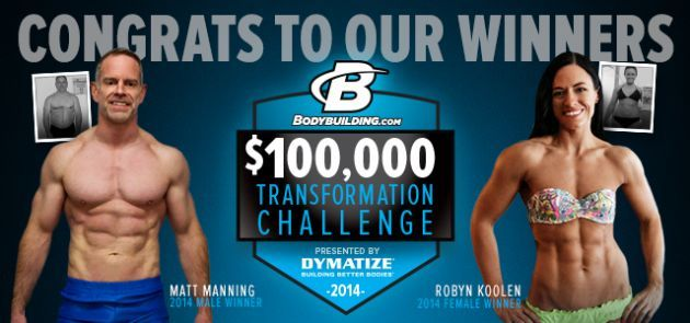 In three months Matt Manning from Xenia, Ohio transformed by dropping 40 pounds, which led to a $50,000 grand prize win.