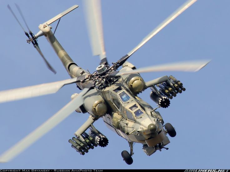Mi-28 Havoc  Russian Attack Helicopter