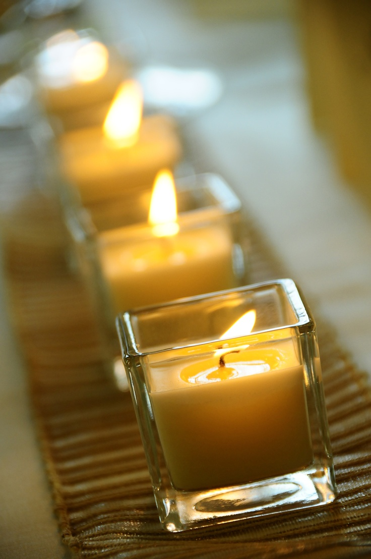 wedding #wedding candels #wedding decor