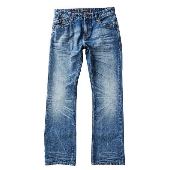 Just Jeans   Mens Slim Bootcut Denim in Mid Vintage   $79.99
