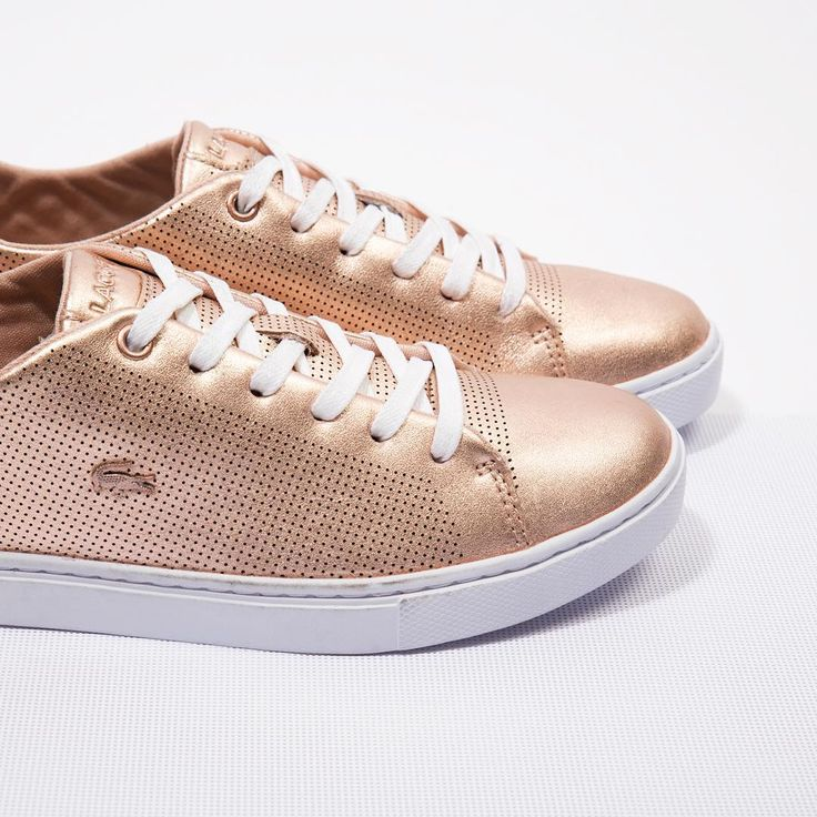 Sneakers femme - Lacoste Showcourt Lace Pink