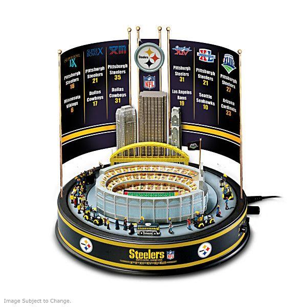 Pittsburgh Steelers Super Bowl Carousel