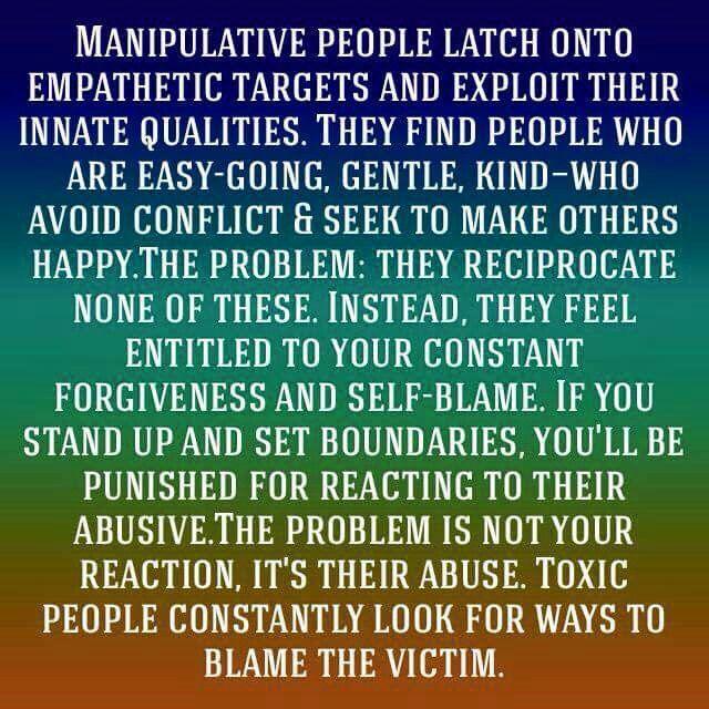 Manipulative woman traits
