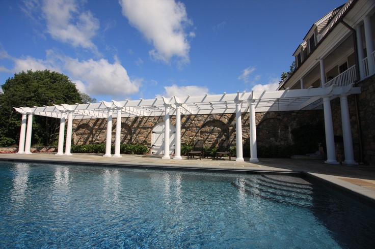 48 best pergolas images on pinterest backyard ideas for Pool design by laly llc