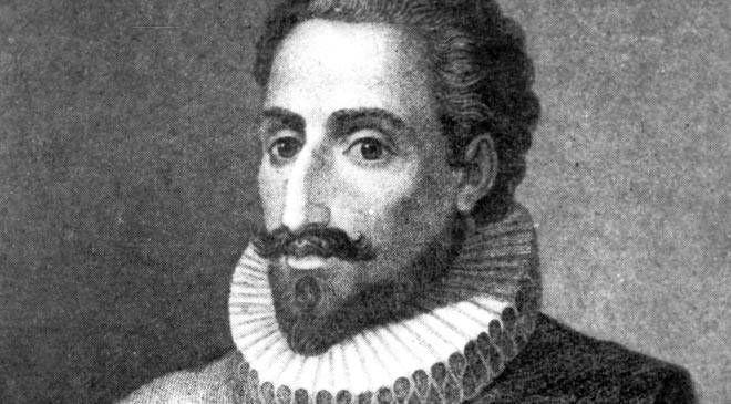 Retrato del escritor Miguel de Cervantes Saavedra © EFE