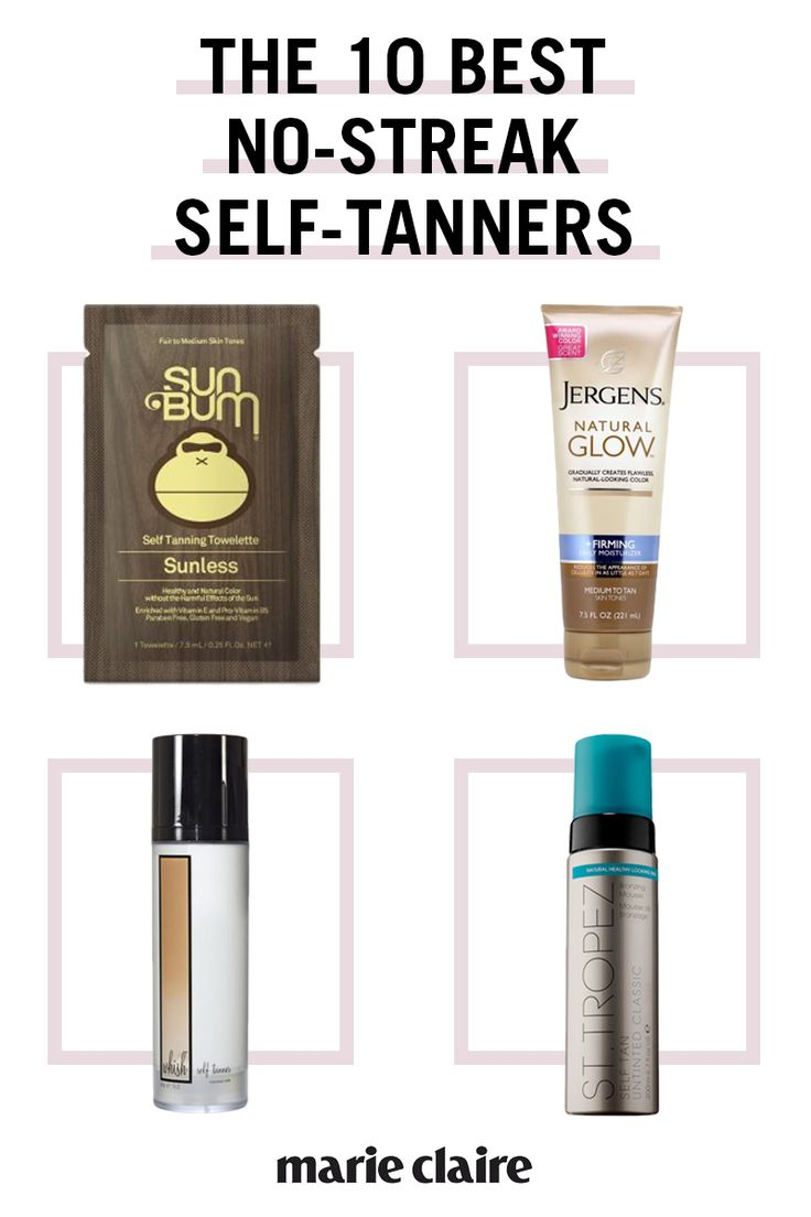 The 10 Best No-Streak Self-Tanners