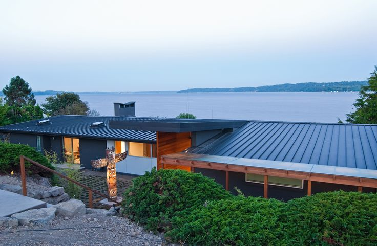 Mid Century Modern Standing Seam Roof Google Search