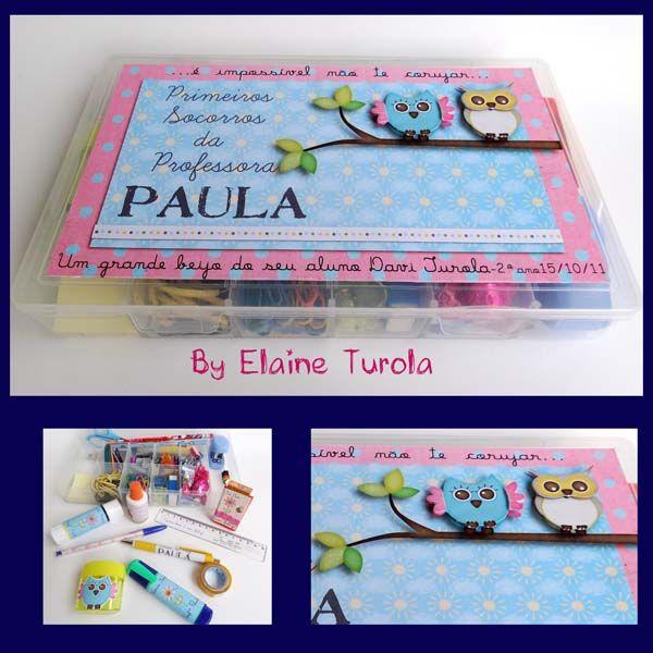 ARMAZÉM DE MEMÓRIAS by Elaine Turola: Presente para a professora!