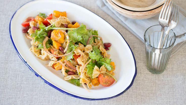 Salade de pâtes à la mexicaine avec vinaigrette tex-mex