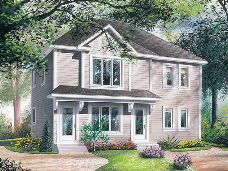 78 images about two family house plans on pinterest for Cool house plans duplex