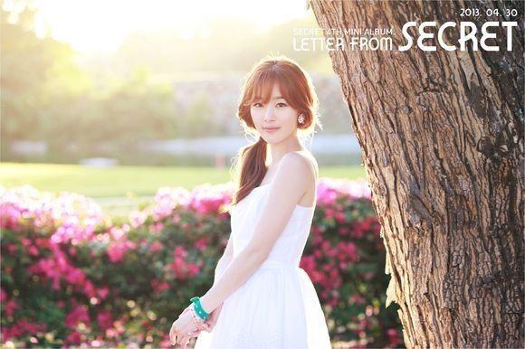 SECRET Han Sunhwa Teaser Image Revealed, 'Cute and Fresh'