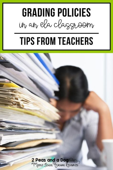 Grading Policies and Tips in the English Language Arts Classroom ...