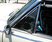 Vent windows on your car.