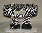 Bandeja/suporte P/ Doces Zebra