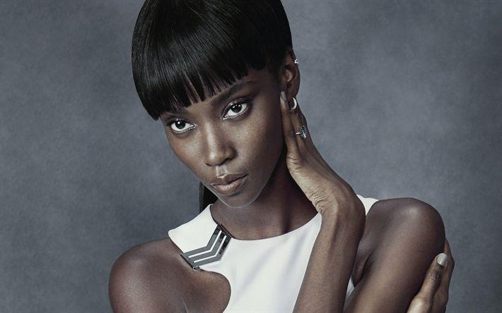 Download wallpapers Riley Montana, american models, beauty, brunette, fashion models