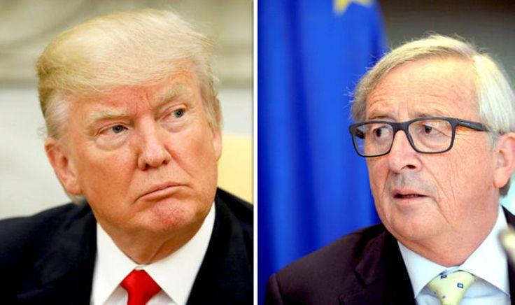 Trump can't quit Paris Agreement until NEXT ELECTION as Juncker says you CANT exit'