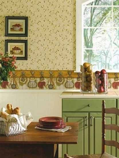 painted country cabinets