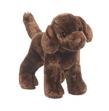 Douglas 8 inch stuffed animal Sylvia Chocolate Lab