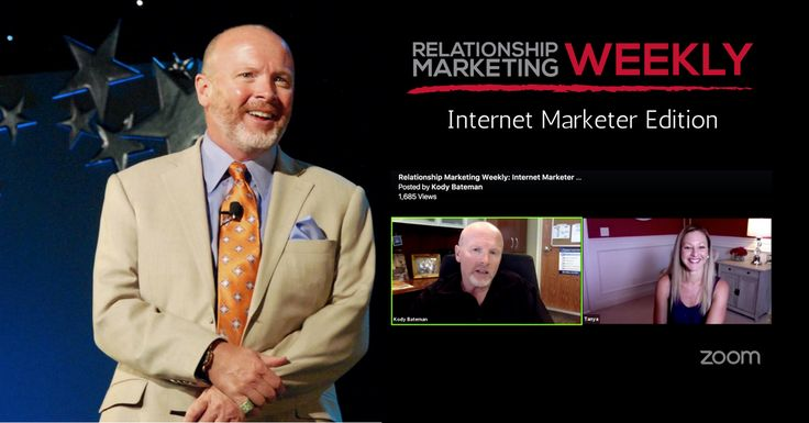 On this week's Relationship Marketing Weekly, 7-figure earner Tanya Aliza joins Master Relationship Marketing Expert Kody Bateman! Tanya explains how she cracked the code on repeat business and how she gets a non-stop stream of referrals by incorporating a simple relationship marketing strategy with her on-line business.   Kody Bateman: Today we have a very …
