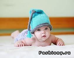 Интересные вязаные шапочки для малышей / смешные вязаные шапки