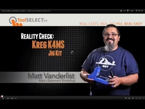 Real User Review and How-To: Kreg Jig® K4 Master System