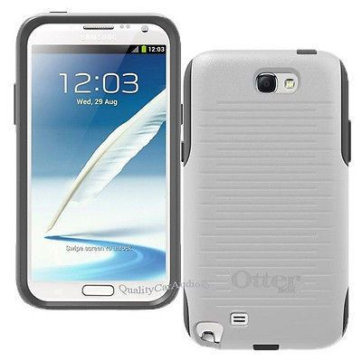 NEW OtterBox Commuter Series Case for Samsung Galaxy Note 2 - WhiteGray  #samsung #samsungmobile