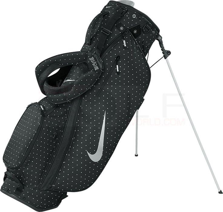 Nike Women's Sport Lite Carry II Ultra-Lightweight, 6 Functional Pockets, Durable Womens Golf Bags Bags & Carts