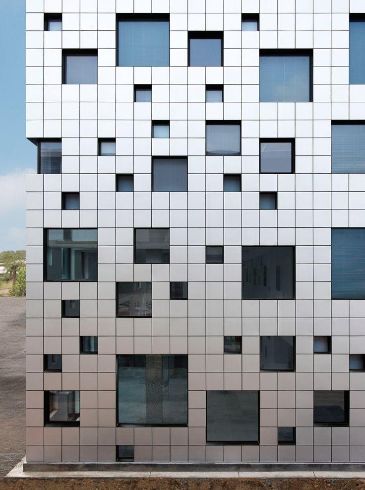 'cube tube' by sako architects, jinhua, china