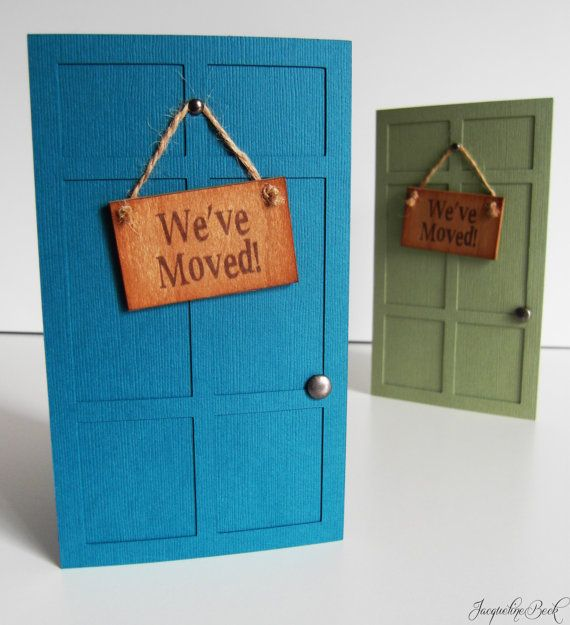 Housewarming Invitations by JacqsCraftyCorner on Etsy, $5.00