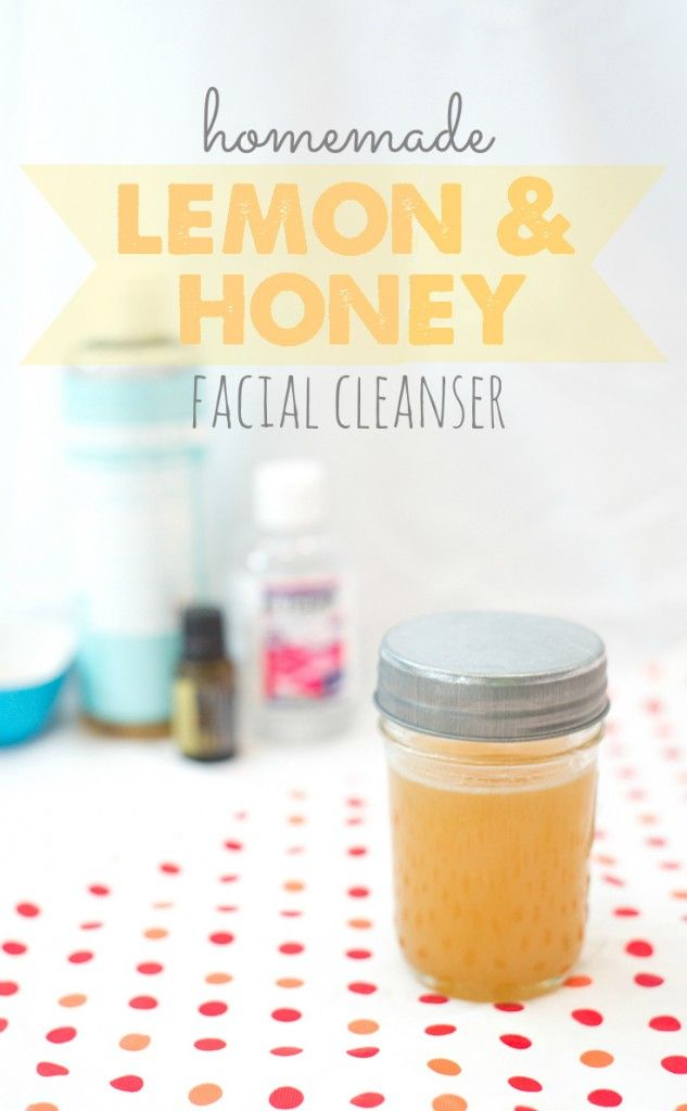 I hate using chemicals on my skin, so I started using this stuff and my skin has never looked better. Seriously! Homemade facial cleanser for the win!