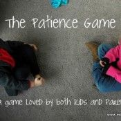 Week #2 - Character Trait - Patience