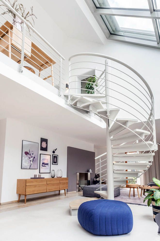 Suitable spiral staircase diy only in indoneso design ...
