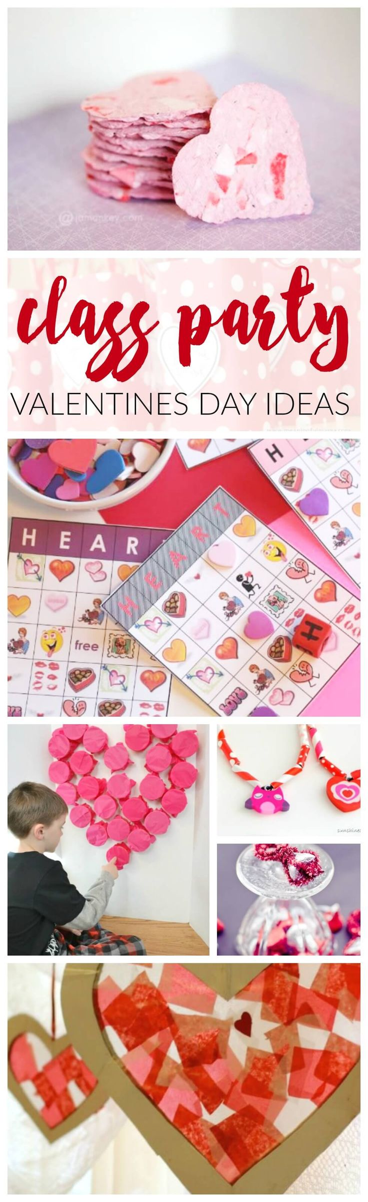 Class party valentines day ideas! If you are the class mom or wanting to throw an awesome party, these kids Valentine's Crafts, Snacks, and Ideas are for you.