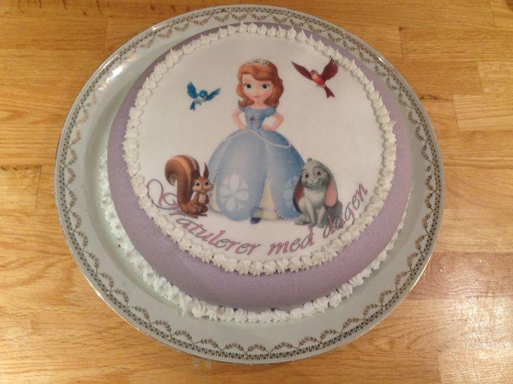 Kake til en liten prinsesse