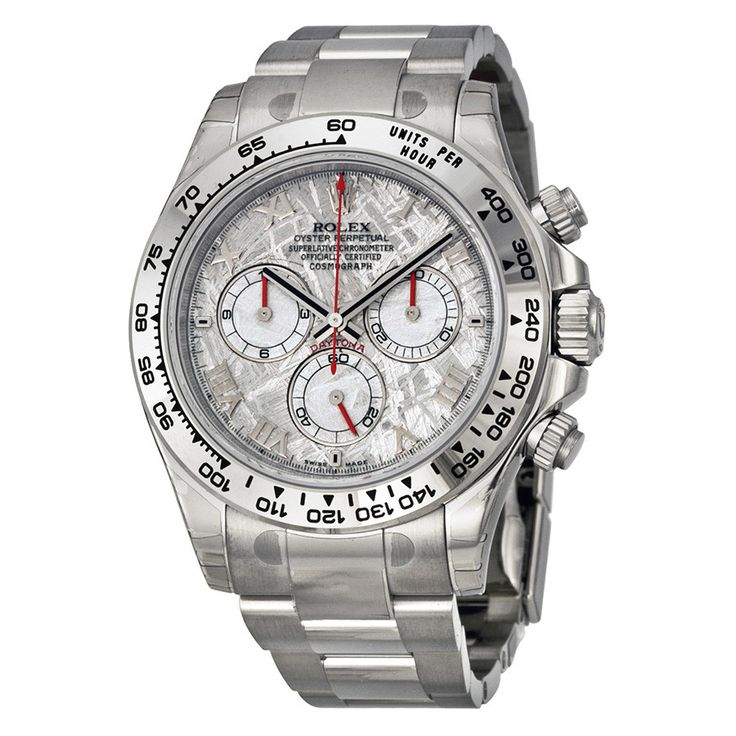 Rolex Daytona Cosmograph White Gold Meteorite Dial Watch 116509MTAO