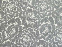 Brockhall Designs Elisa Chenille Fabric Silver Grey - Curtains and Upholstery - The Millshop Online #fabric