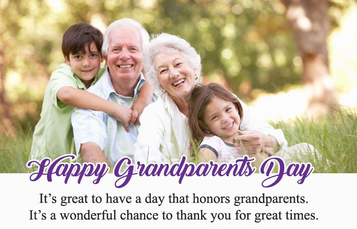 Lovely Happy Grandparents Day Wishes Images Of Grandparents And