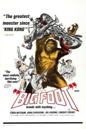 Bigfoot movie reprint Poster 11x17