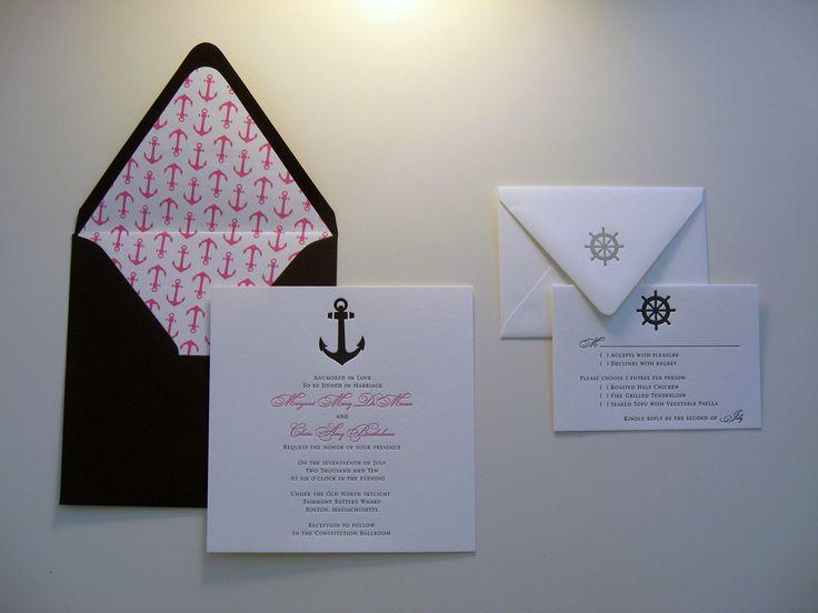 Anchor :: Wedding Invitations :: Dolce Press Head Over Heels