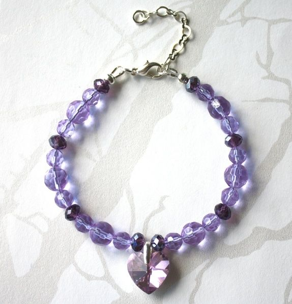 Purple bracelet - SOLD