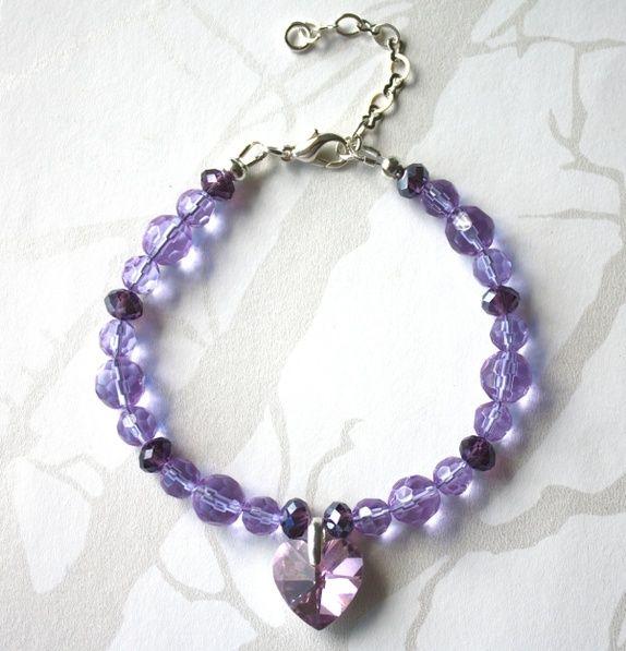 Purple bracelet - SOLD