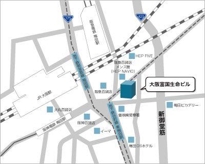 大阪オフィス 地図