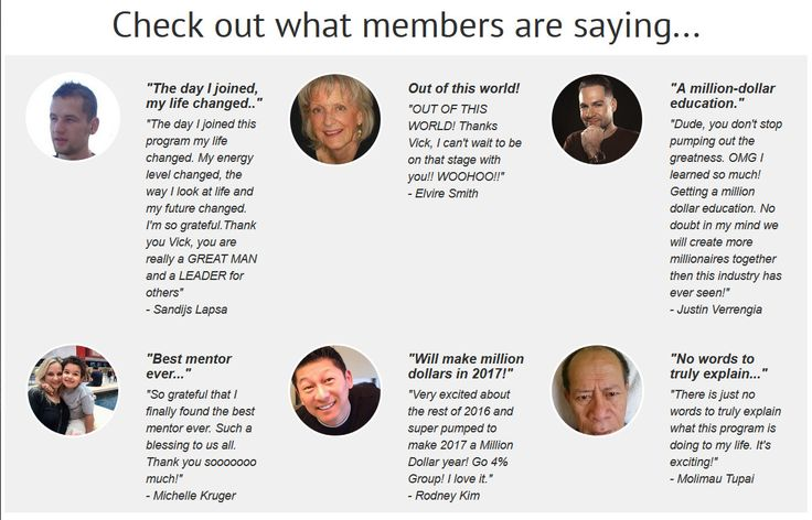 See what members are saying