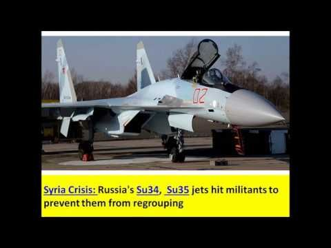 Syria Crisis: Russian Su34,  Su35 jets, Ka52 helicopters are at Russian ...